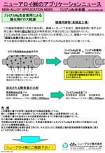 アプリケーションニュース (PMG-002 酸化物ドロス軽減02)