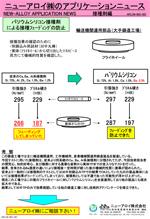 アプリケーションニュース (接種-001 BaSiのフェーディング防止)